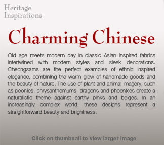Charming Chinese Description