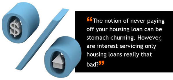 Home Finance - The Fallacy Of Interest Only Housing Loans