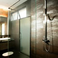 Interior Design Manhattan Style: Coten Tiled Bathroom