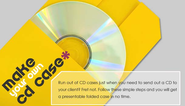 Home Decor and Handicraft: Make your Own CD Case