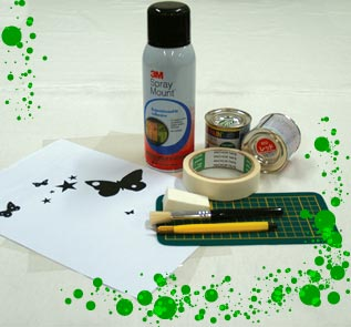 Home Decor and Handicraft: Wall Stenciling Materials
