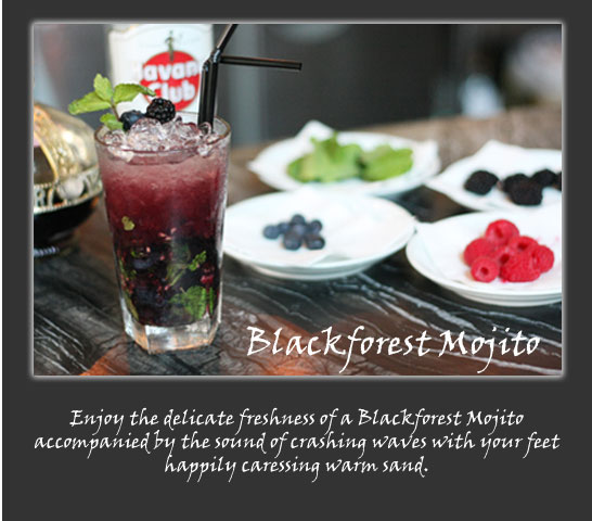 Tastebuds - Blackforest Mojito Recipe
